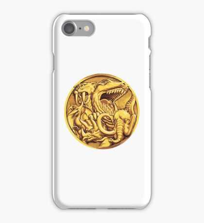Mighty Morphin Power Rangers Megazord Coin iPhone Case/Skin