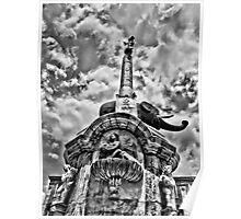The elephant symbol of Catania Poster