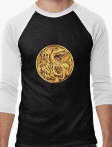 Mighty Morphin Power Rangers Megazord Coin Men's Baseball ¾ T-Shirt