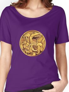 Mighty Morphin Power Rangers Megazord Coin Women's Relaxed Fit T-Shirt