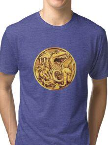 Mighty Morphin Power Rangers Megazord Coin Tri-blend T-Shirt