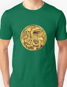 Mighty Morphin Power Rangers Megazord Coin Unisex T-Shirt