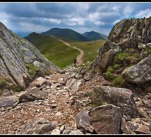 The ridge walk to the Old Man of Coniston by Shaun Whiteman