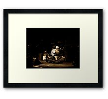 The Living End. Framed Print