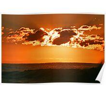 black sea morning light Poster