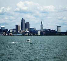 CLEVELAND OHIO ON LAKE ERIE by JoAnnHayden
