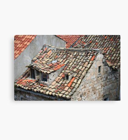 tiled history Canvas Print