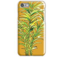 Leafy Plants - Watercolor iPhone Case/Skin