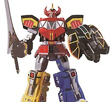 Mighty Morphin Power Rangers Megazord by Zanie