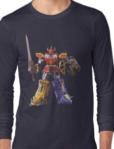 Mighty Morphin Power Rangers Megazord Long Sleeve T-Shirt