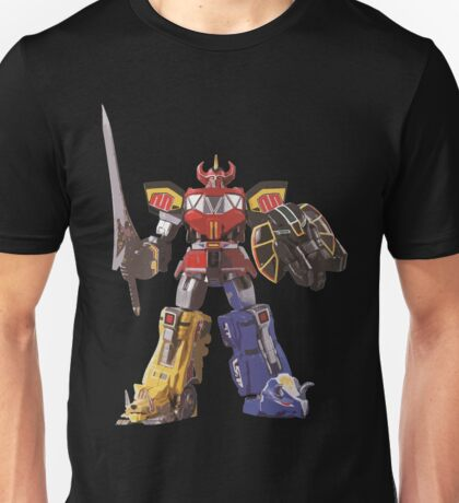 Mighty Morphin Power Rangers Megazord Unisex T-Shirt