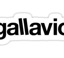 Gallavich BLK Sticker