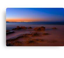 Gold Coast at dusk  Canvas Print
