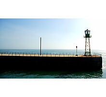 Harbour Wall End Photographic Print