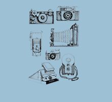 Vintage Camera Collection Womens T-Shirt