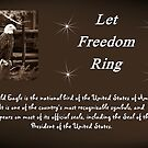 Let Freedom Ring by Greeting Cards by Tracy DeVore