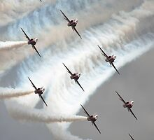 The Red Arrows by chalkie