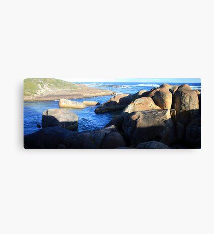 Elephant Rocks Panorama Canvas Print