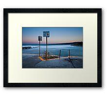 Rising Tide Framed Print