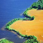 Aerial Shore Line by Robert Goulet