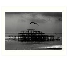 West Pier Brighton 2 Art Print