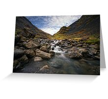 Honister Pass Greeting Card