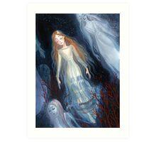Water Sisters Art Print