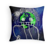 Monster of the Universe   Throw Pillow
