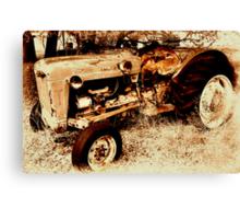 Old Ford RoadMaster Tractor          ( Bone Yard Series ) Canvas Print