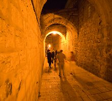 The Old Alley by Moshe Cohen