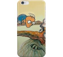 Confronting the Troll 2 (brighter colors) iPhone Case/Skin