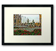 Plaza de Armas, Lima, Peru Framed Print