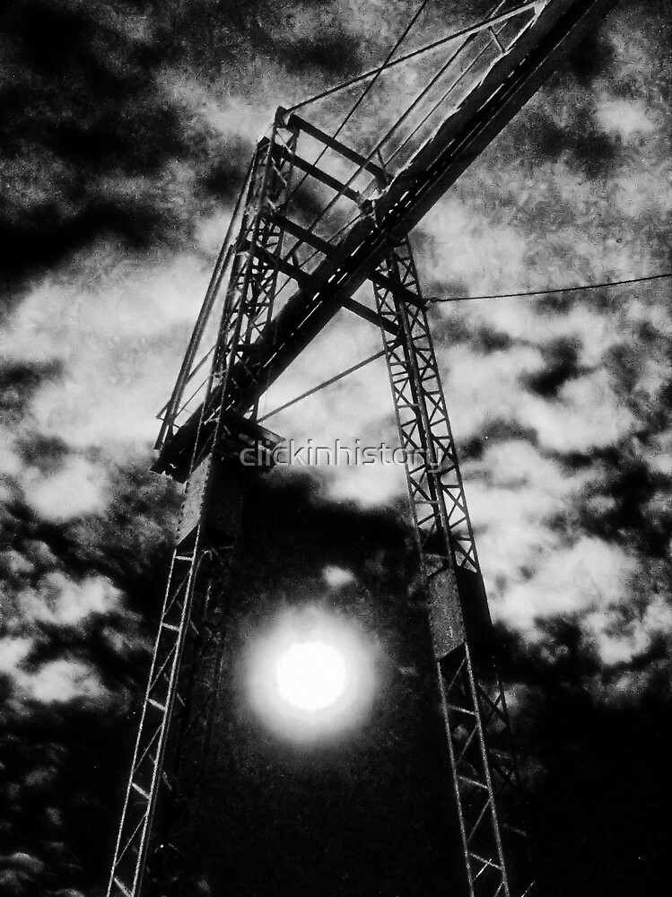 Striding through the sky of man by clickinhistory