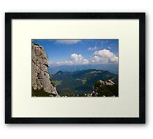 The Eagle's Nest Framed Print