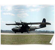 Catalina Aircraft at Australian International Airshow, 2005 Poster