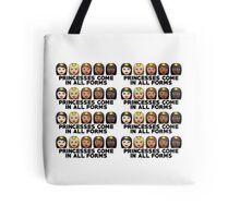 Princesses Print Tote Bag