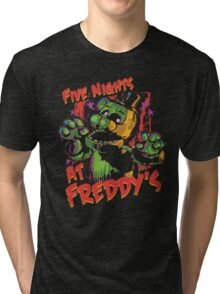 Five Nights At Freddy's Phantom Freddy Tri-blend T-Shirt