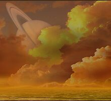 Saturn Rising by liquidnerve