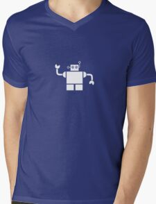 Just a Robot Mens V-Neck T-Shirt