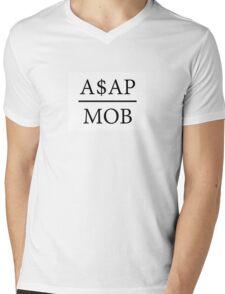 A$AP MOB Mens V-Neck T-Shirt