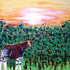 The Lonely Okapi by George Hunter