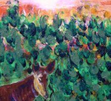 The Lonely Okapi Sticker