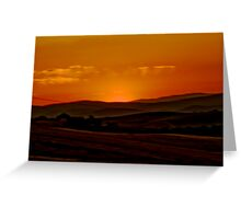 Sun Impression Greeting Card