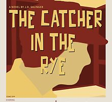 Catcher In The Rye - Vintage Movie Poster Style by esmeopp