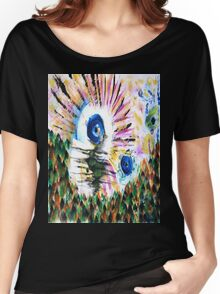 Eyeing the Forest Women's Relaxed Fit T-Shirt