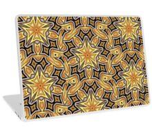 Art Deco Gold Geo Star Laptop Skin