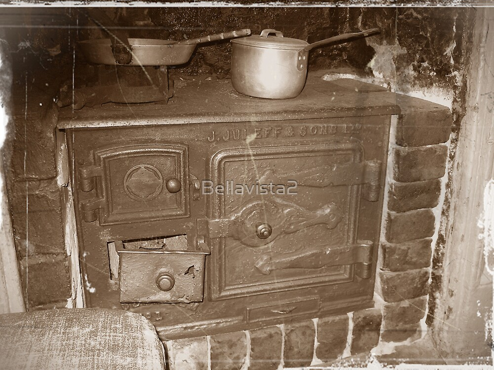 The Old Wood Stove by Bellavista2