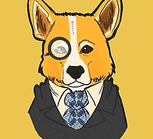 Canine Executive Officer by EliHime