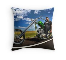 Cycle Source Chris Rollin In Sturgis Throw Pillow