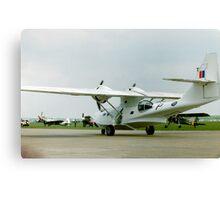 White Catalina PBY Canvas Print